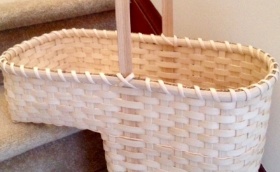 14. Stair Basket with Barbara Green