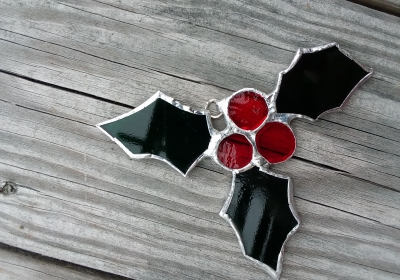 stained glass holiday ornament1