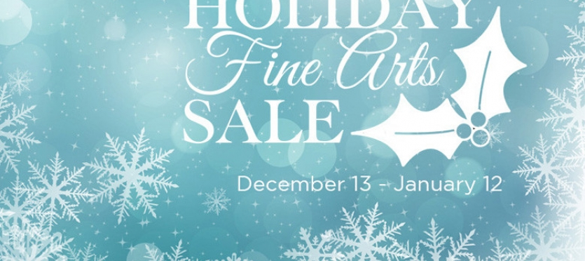 Holiday fine art sale