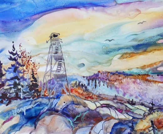 """Fire Tower"" by Jeanne Lampson"