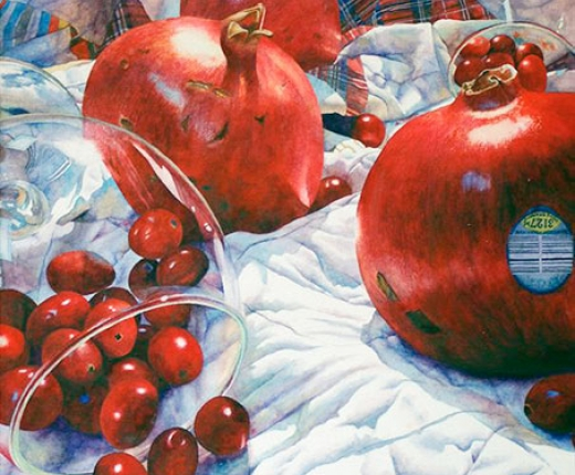 Krupinski - Pomegranates and Cranberries