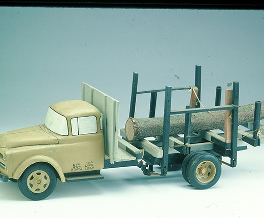 Lavern Kelley - 1957 Dodge Log Truck