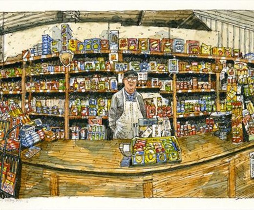 Roger DeMuth - Rury's Food Store, Cherry Valley
