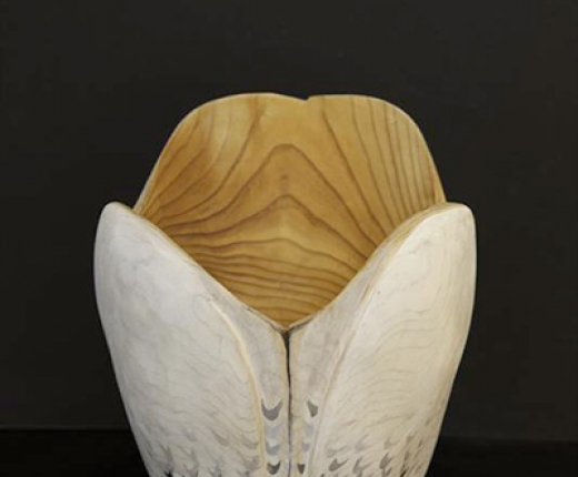 Halperin - Little Snowy Owl Bowl