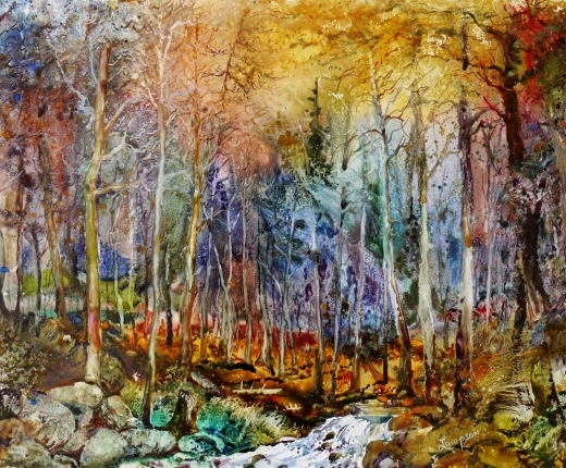 """Forest Fantasy"" by Jeanne Lampson"