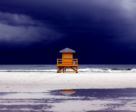 Tracy Genovese - Storm on Siesta Key, Florida