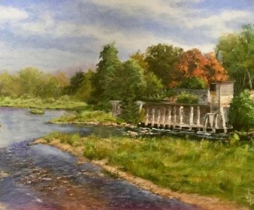McKeever Dam Mill by Tim Ames