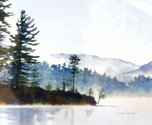Morning Mist by Catherine P. O'Neill - featured artwork from 2017 Plein Air Auction