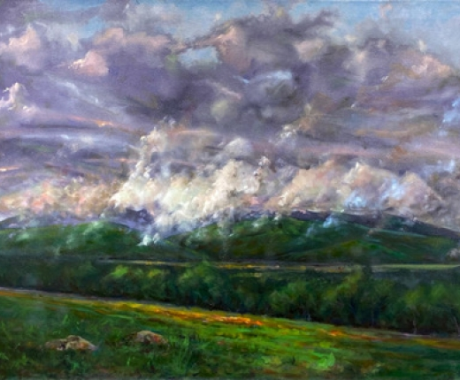 """View From Harrietstown Hill"" by Stephen Horne"