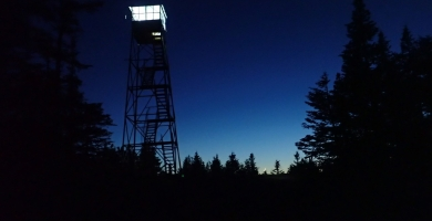 blue mountain lights